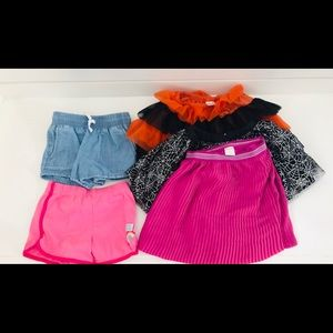 Gymboree EUC Lot of 4t Skirts and Shorts